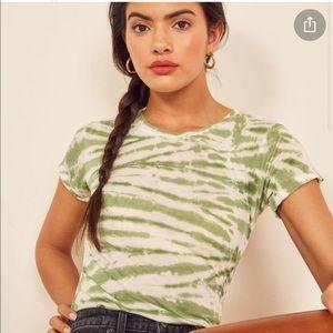 Reformation Vintage T-shirt Tie Dye